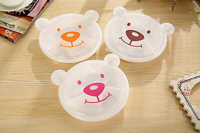 Rilakkuma Bento Lunch Box Plastic  Lunch Meal Box Kids Food Container With Spoon