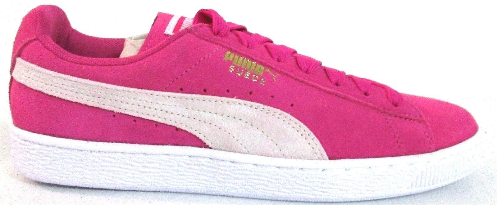 PUMA 9.5 Women's Suede Classic W Fashion Sneaker 355462 38  Fuchsia 7342 []