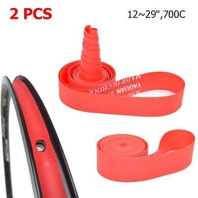 2 Pcs Nylon Rim Tape Clincher Wheel Strip Inner Tube Pad Road Bike Rim Protector