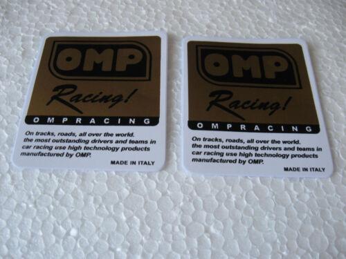 Sticker Aufkleber Auto-Tuning Autosport OMP Racing Motorradsport Biker GT FX GTI