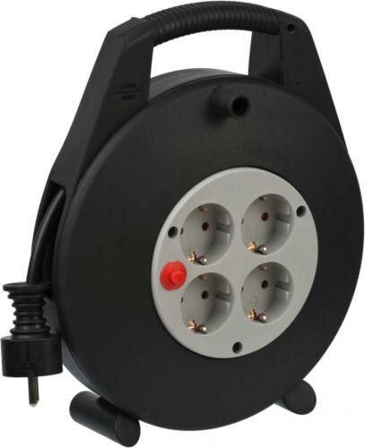 Brennenstuhl Kabelbox 4-fach schwarz//lichtgrau 10m H05VV-F 3G1,5