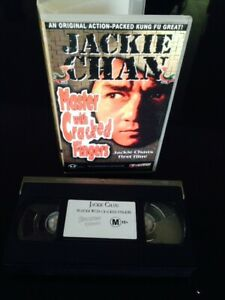 MASTER-WITH-THE-CRACKED-FINGERS-VHS-Jackie-Chan-039-s-first-film-JACKIE-CHAN