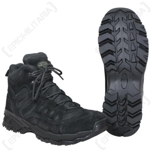 dimensioni della squadra a Scarpa combattimento altezza nera stile piedi media Stivali le militare Tutte O6aqdw