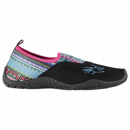 Hot Tuna Womens Ladies Aqua Shoes Splasher Pattern