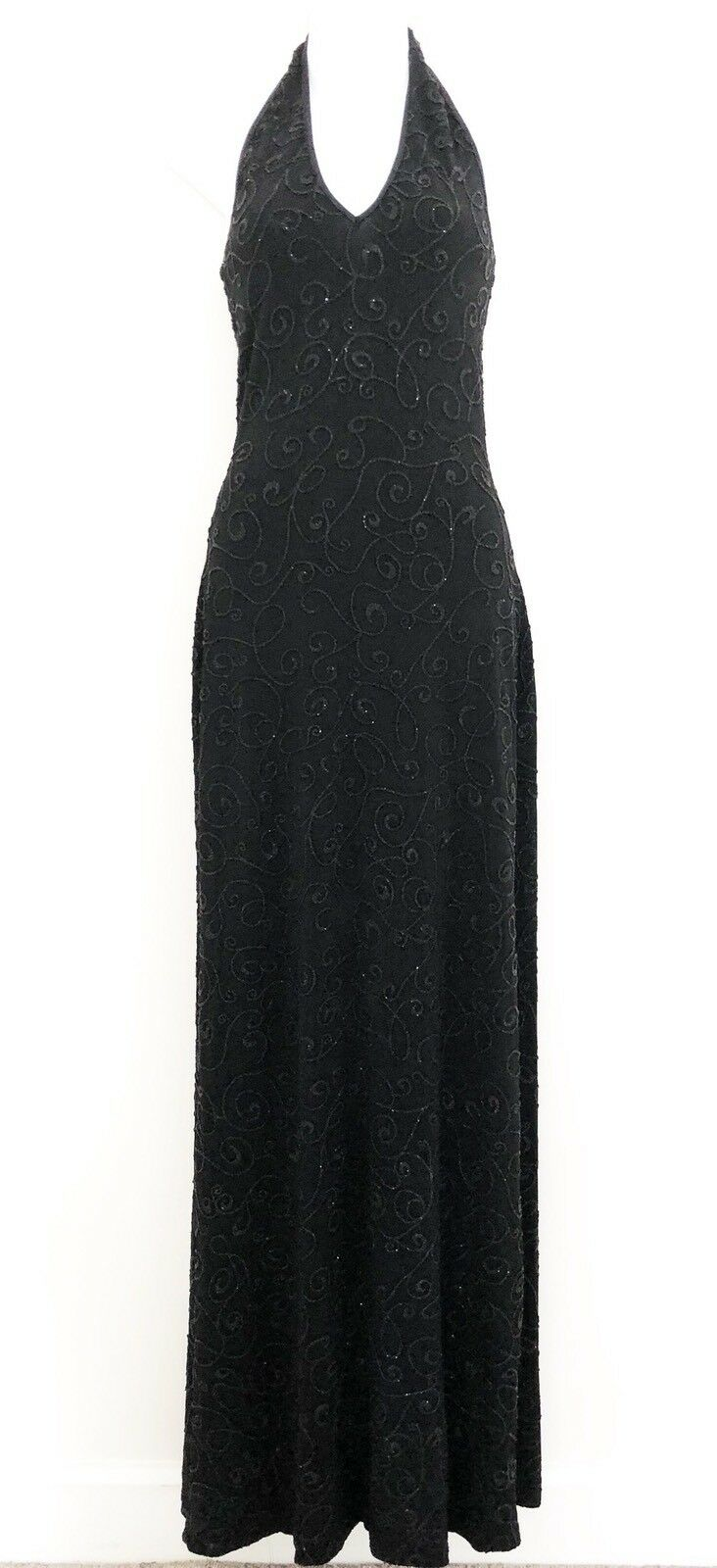 Alexia Admor for CACHE damen Evening Gown Dress Sz XS schwarz Sleeveless Stretch