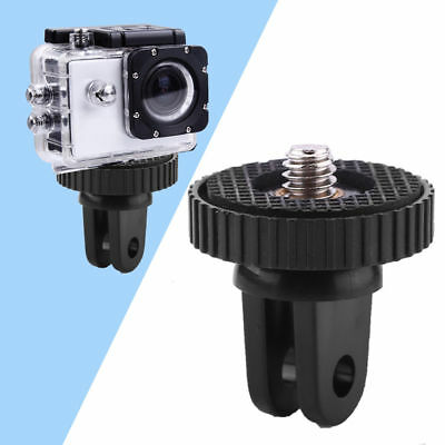Black Monopod Tripod Mount Adapter For Go-Pro HD Hero Original 1 2 3 4  Camera