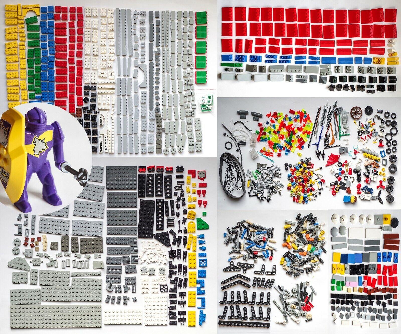 LEGO BASIC + TECHNIC + SONDERTEILE + 51881 DANJU 1.440 Teile sortiert in 3 Boxen