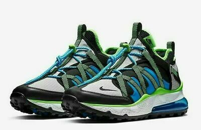 Nike Air Max 270 Bowfin Trail Shoes Black Phantom Photo Blue Green AJ7200 002 | eBay