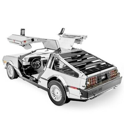DeLorean Metal Earth Laser Cut Metal Model Kit Fascinations MMS181