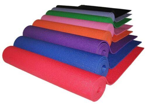 Gymnastikmatte Pilatesmatte Sportmatte Fitnessmatte 170x60x6mm Yogamatte rot