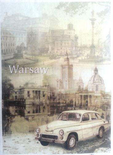 Warsaw City Scrapbooking Decoupage Sheets Craft Rice Decoupage Paper