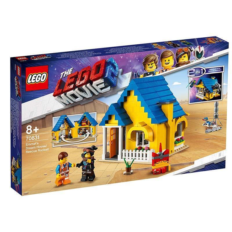 LEGO THE LEGO MOVIE 2 70831 Emmets Traumhaus/Rettungsrakete  NEUHEIT 2018 OVP,