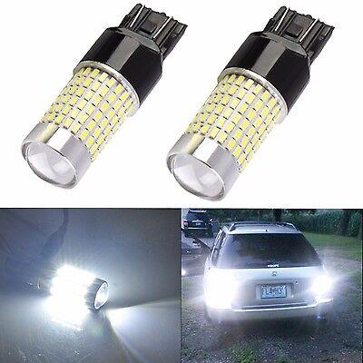 JDM ASTAR 2x 144-SMD 7440 7443  White LED Backup Reverse Turn Brake Lights Bulbs