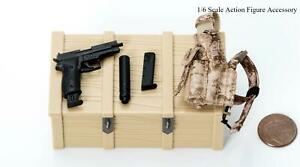 1//6 Easy Simple 26030C SMU Frozen Night Assault AOR1 Plate Carrier Vest Set