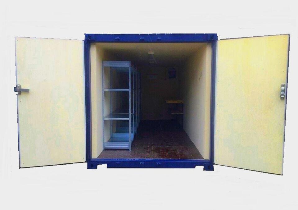 Ny 20' fods container (Ekskl. moms) (Esbjerg) m...