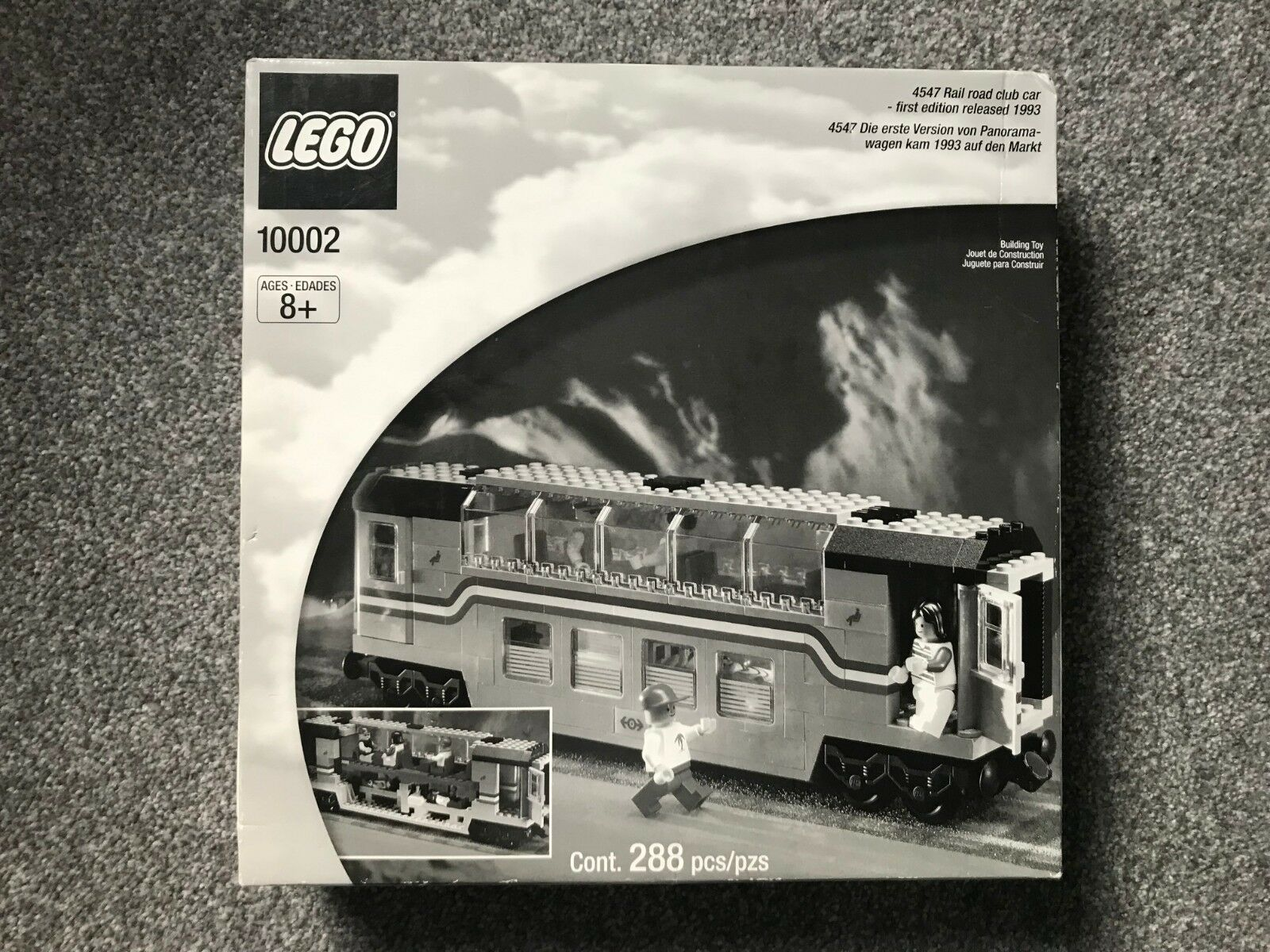 LEGO Legends 10002 Railroad Club Car - Brand New