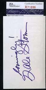 Gale-Storm-Jsa-Coa-Hand-3x5-Index-Card-Authenticated-Autograph