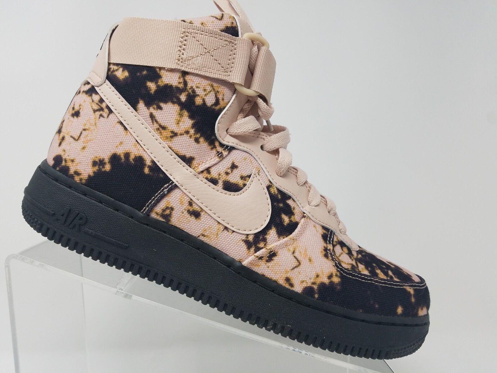 Nike Air Force 1 AF1 High Print Acid Wash Size 8.5 Mens Black AR1954 001