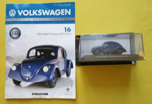 DeAgostini  Volkswagen  Nr.16      PROTOTYP  W30 Neu 1937 OVP