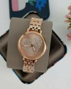 FOSSIL-JACQUELINE-THREE-HAND-ROSEGOLD-TONE-WATCH