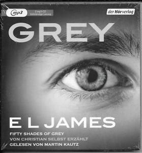 2-MP3-E-L-James-GREY-Fifty-Shades-of-Grey-NEU-OVP-von-Christian-selbst-erzaehlt