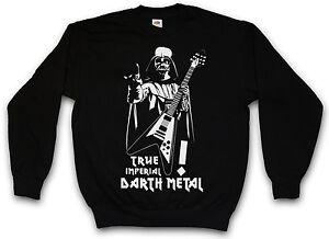 Vader Wars Darth Imperial True Pullover Sweat Anakin Sweatshirt Nero Star Metal X4BaxanS8