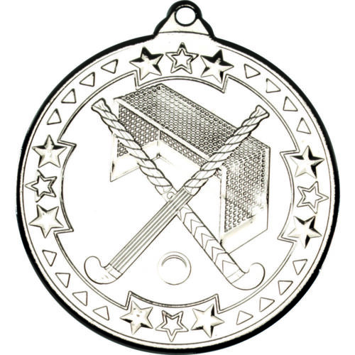 Hockey 50mm Medals Sport Team Club School FREE ribbon engraving /& uk p/&p