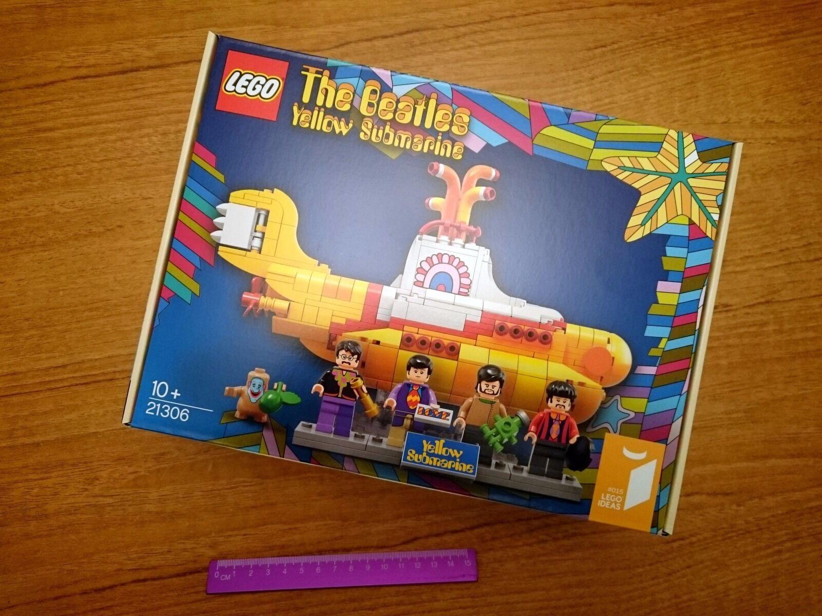 Lego Ideas 21306 The Beatles Yellow Submarine Brand New Unopened