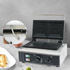 Commercial Sandwich Maker Press Grill Toast Press Maker Machine Nonstick 1500w
