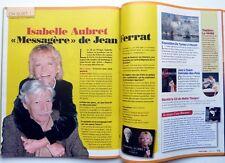 Mag 2011: ISABELLE AUBRET_JEAN FERRAT_DANIEL AUTEUIL_JEAN-PAUL II_LA MERE DENIS