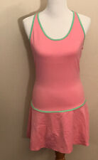 DKNY Womens Pink Scuba Print Office Wear Sheath Dress 2 BHFO 7793