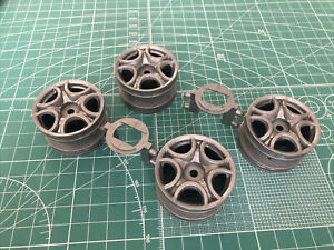 Tamiya 58453 Alfa Romeo Original Wheel Set M-05