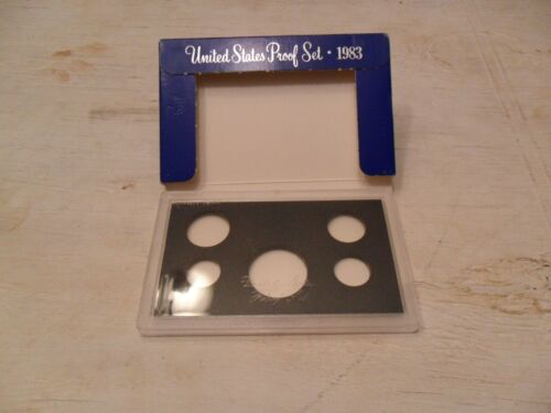 1983 Proof Set Box and Lens ONLY