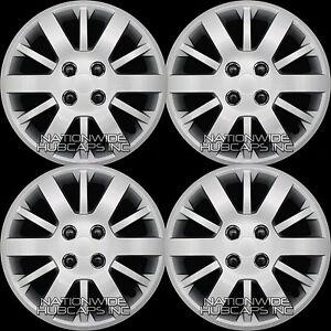 15-034-Set-of-4-Chevy-Cobalt-Aveo-G5-Bolt-On-4-Lug-Hub-Caps-Full-Wheel-Covers-R15