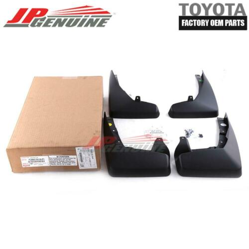 GENUINE LEXUS NX200t//300h OEM FENDER MUD SPLASH FLAP GUARDS SET PU060-78116-P1