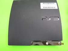 Sony PlayStation 3 Slim Launch Edition Charcoal Black Console (CECH-3001B) #K