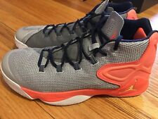70d5e566c956 item 4 JORDAN melo m12 12 size 10.5 USED EXCELLENT hyper orange metallic  silver white -JORDAN melo m12 12 size 10.5 USED EXCELLENT hyper orange  metallic ...