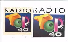 QSL Sticker Radio Top 40 Calahorra La Rioja Spain Espana 1994 DX SWL