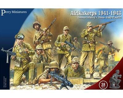 Abile Perry Miniatures: 28mm; Fanteria Tedesca Afrikakorps 1941-43 New Spedizione 24h! Bello E Affascinante