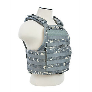NcStar-DIGITAL-ACU-Police-Military-Tactical-MOLLE-PALs-Adj-Plate-Carrier-Vest