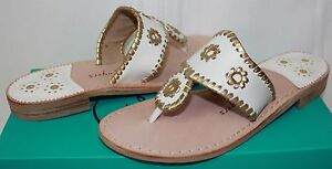 2582202d2a95 Jack Rogers Nantucket Gold Navajo Women s Sandals white gold New ...