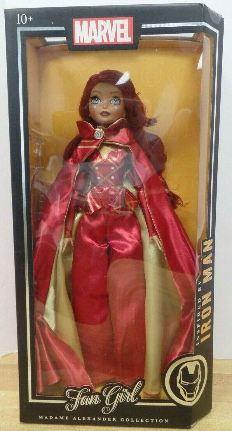 Marvel Fan Girl Madame Alexander Collection Iron Iron Iron Man Inspired Doll 14  08864f