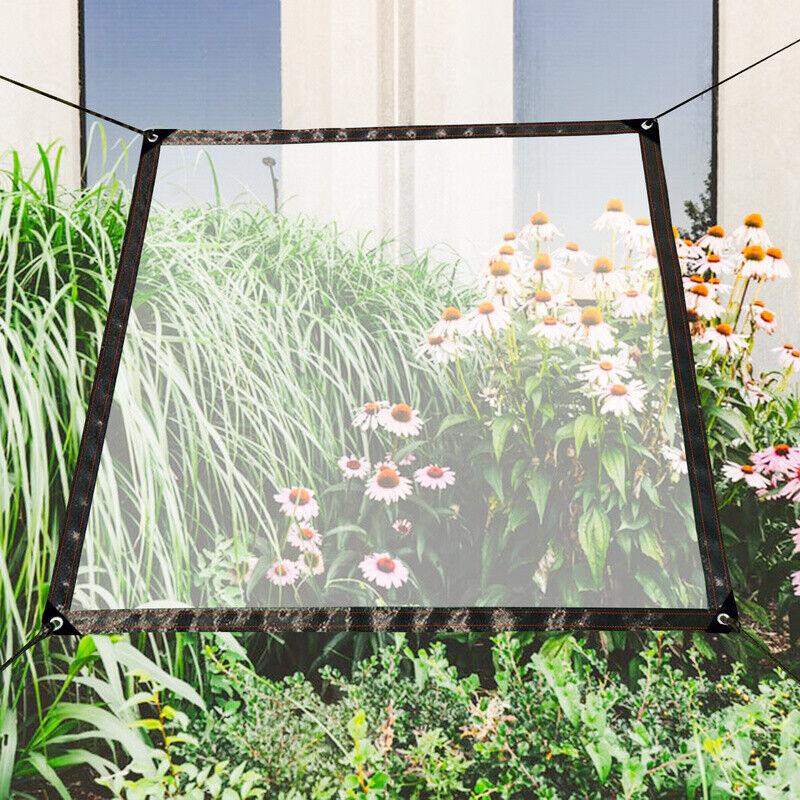 Transparente Plane Gewächshaus Folie Durchsichtig Outdoor Dicke Klare Garten