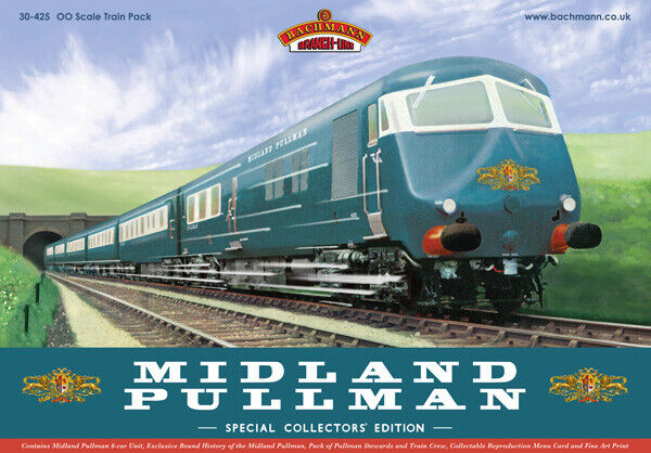 Bachuomon 30425  classe 251 6 auto Midle Pulluomo Train Pack Nanre blu Livery