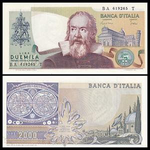 Italy-2000-2-000-Lire-1983-P-103c-banknotes-UNC