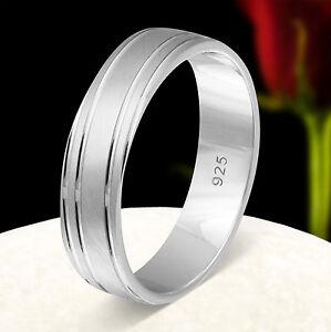 925 Sterling Argento-un anello di fidanzamento, nuziali con incisione gratuita s101h  </span>