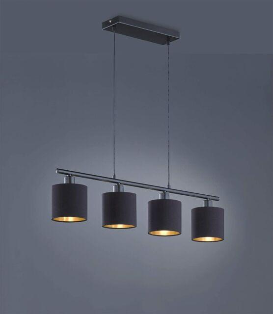 Lámpara colgante moderna, 28 W, Negro mate [Clase de eficiencia energética A]