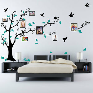 Image Is Loading Family Tree Bird Photo Frame Nursery Wall Quotes  Part 55