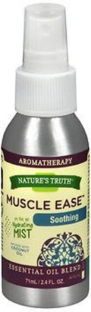 Nature's Truth Soothing Muscle Ease Mist Spray 2.4 oz