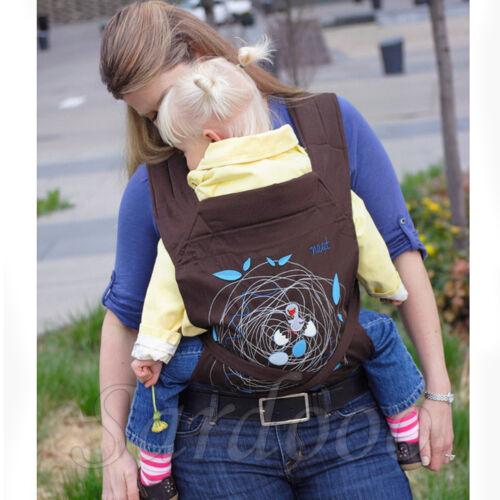 Babytrage Carrier Tragehilfe Bauchtrage Rückentragehilfe  für BABY Neugeborene